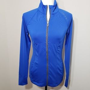Under Armour bright blue jacket size S